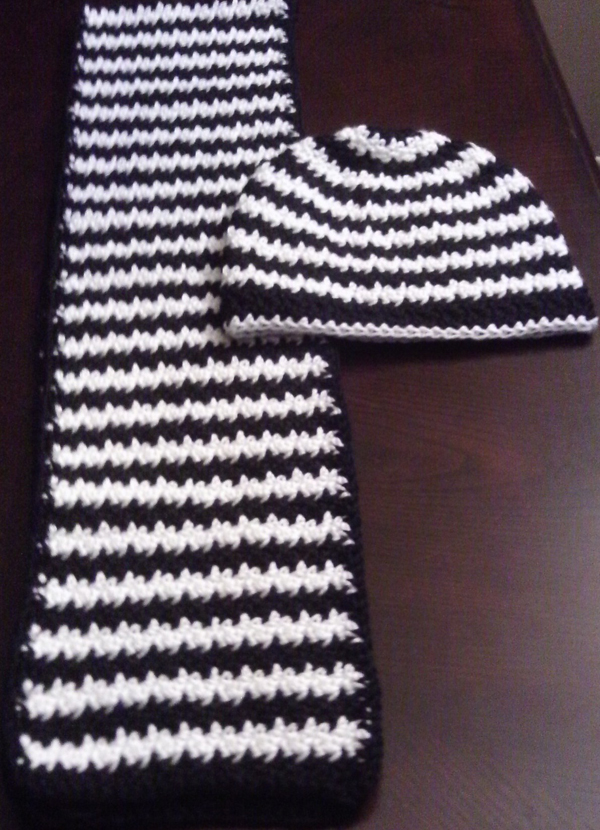Crochet Houndstooth Pattern images